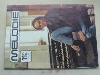 Melodie 11 (1987) ročník XXV.