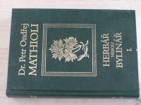 Mathioli - Herbář neboli bylinář I.-III. (2005) 3 knihy