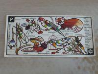 Československá státní loterie dětem - P - Pásovec (nedatováno)