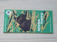 Edicia turistických máp 18 - Nízke Tatry - Letná turistická mapa (1986)