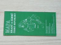 Mapa hradů a zámků Československé republiky 1 : 500 000 (1993)