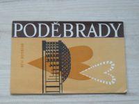 Orientační plán - 1 : 10 000 - Poděbrady (1970)