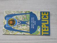 Plán města - 1 : 10 000 - Teplice (1982)