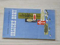 Soubor turistických map  - 1 : 100 000 - Orlické hory (1963)