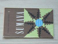 Soubor turistických map 1. - 1 : 100 000 - Šumava (1972)