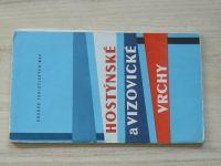 Soubor turistických map 1 : 100 000 - Hostýnské a Vizovické vrchy (1975)