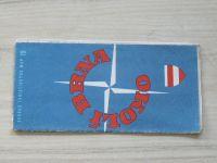 Soubor turistických map 15 - 1 : 100 000 - Okolí Brna (1975)