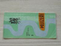 Soubor turistických map 3 - 1 : 100 000 - Pojizeří (1970)