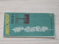 Soubor turistických map 32 - 1 : 100 000 - Pavlovské vrchy (1970)