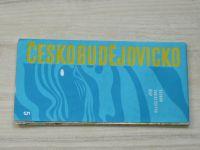 Soubor turistických map 5 - 1 : 100 000 - Českobudějovicko (1973)
