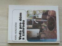 Böse - Voda pro dům a zahradu (1991)