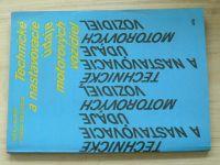 Hilvert, Mészáros -Technické a nastavovacie údaje motorových vozidiel  (1989)