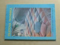 Květen - Ateliér pro služby ženám - Kolekce 2 č. 113 - Filetová technika (1986)