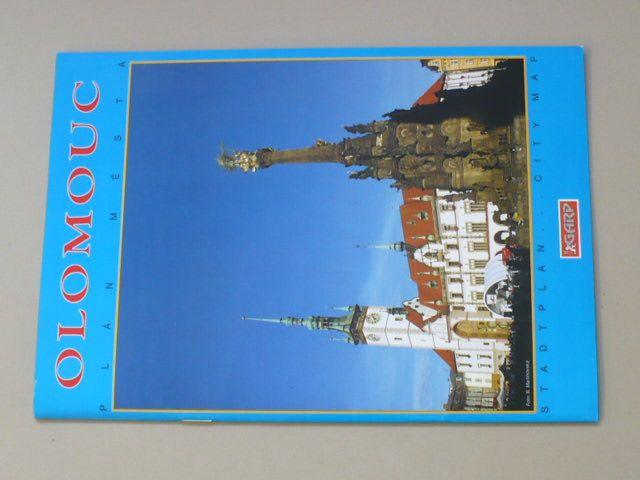 Olomouc - Plán města (2005)