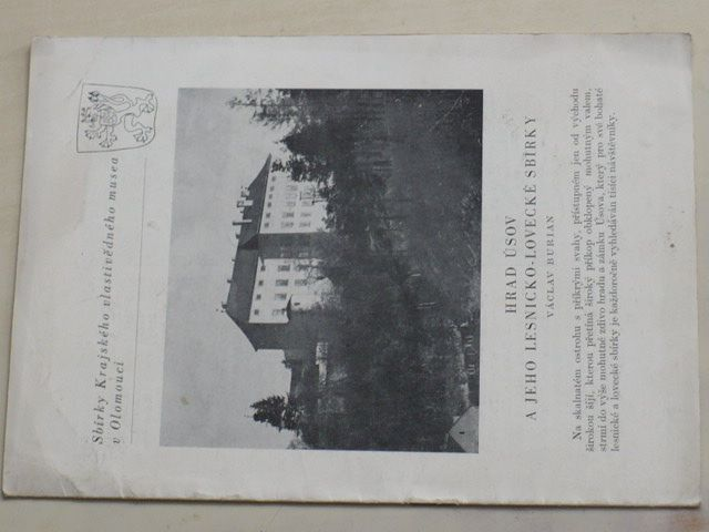 Burian - Hrad Úsov a jeho lesnicko-lovecké sbírky