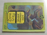 Dobrodružné romány 234 - Grey - Rajské pahorky koní (1974) slovensky