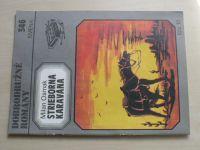Dobrodružné romány 346 - Osmak - Strieborná karavána (1984) slovensky
