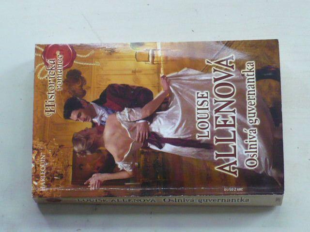 Historická romance, č.289: Allenová - Oslnivá guvernantka (2010)