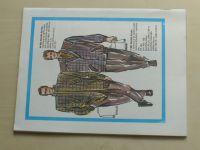 Květen - Ateliér pro služby ženám - Kolekce 4 č. 127 - Pánská móda nabízí (1989)