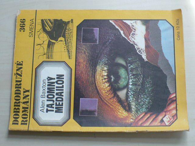 Dobrodružné romány 366 - Baxton - Tajomný medailón (1986) slovensky