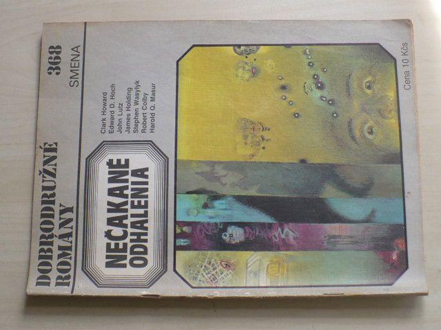 Dobrodružné romány 368 - Nečekané odhalenia (1987) slovensky
