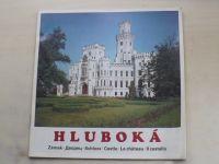 Hluboká (nedatováno) česky, anglicky, rusky, německy, francouzsky, italsky