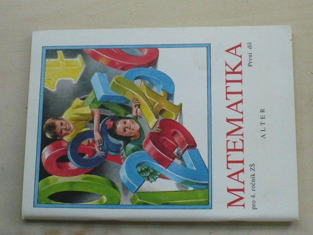 Matematika pro 4. ročník ZŠ (1996) 1. díl