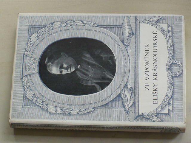 Ze vzpomínek Elišky Krásnohorské (1950)