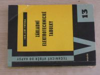 Technický výběr do kapsy 13 - Tříska - Základní elektrotechnické tabulky (1959)