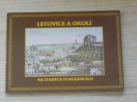Letovice a okolí na starých pohlednicích  ze sbírky Františka Abrháma (1999)