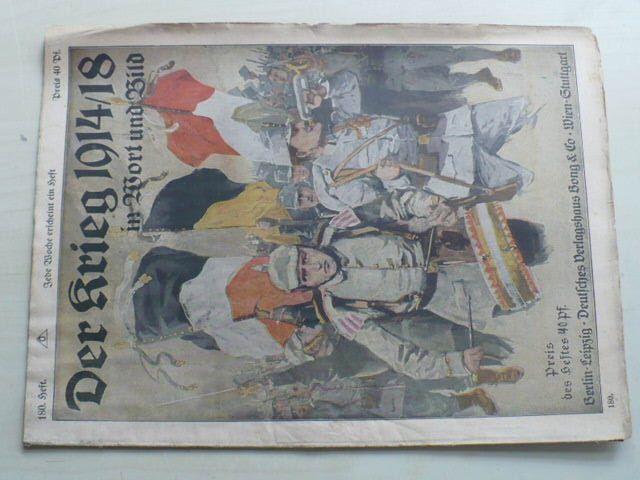 Der Krieg in Wort und Bild 180 (1914-18) německy