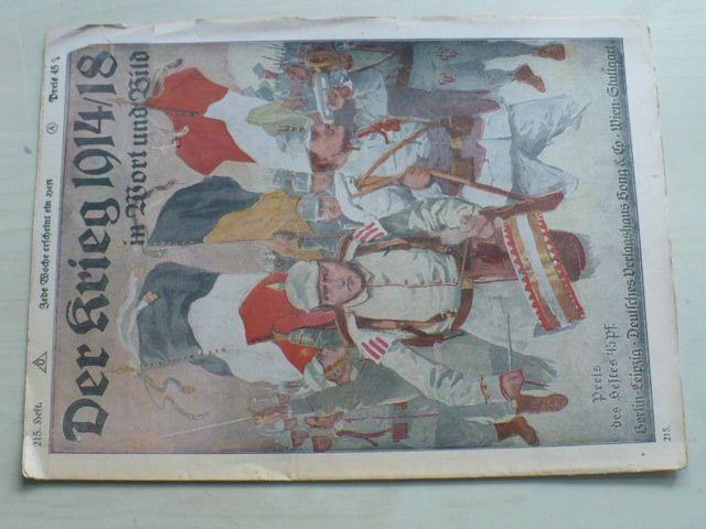 Der Krieg in Wort und Bild 215 (1914-18) německy
