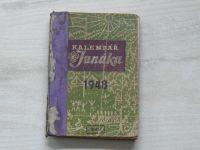 Kalendář Junáka 1948