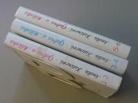 Kutinová - Gabra a Málinka 1-2, 3-4, 5-6 (1991) 3 knihy