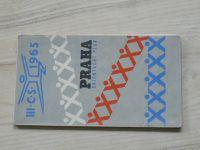 Orientační plán - III. C.S. Praha 1 : 15 000 (1965)