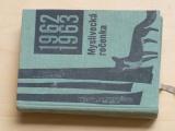 Myslivecká ročenka 1962,1963