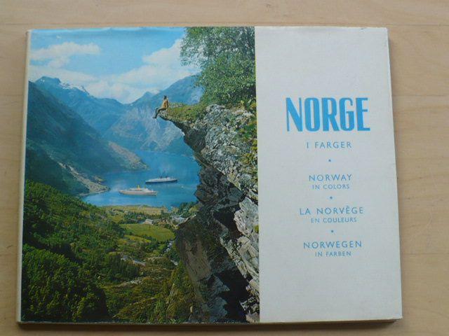 Norge i farger - Norway in colors - Norsko v barvách