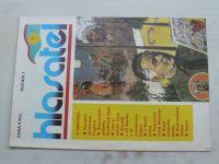 Hlasatel 1 (1991) ročník I.