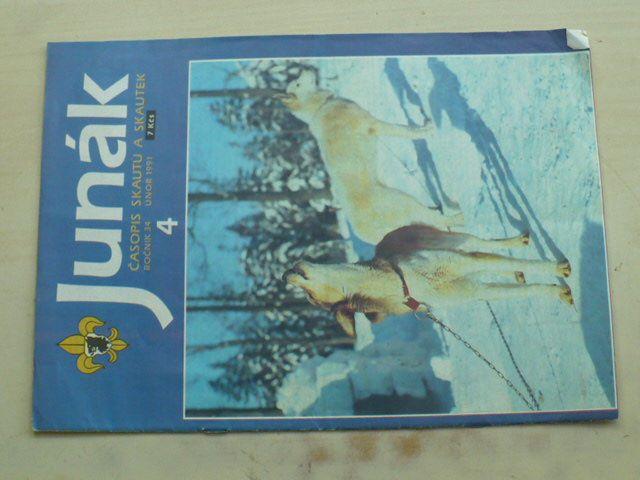 Junák 4 (1991) ročník XXXIV.