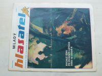Mladý hlasatel 1-24 (1990-91) ročník I. (chybí čísla 11, 22-24, 20 čísel)