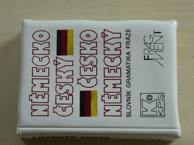 Německo český, česko německý slovník gramatika fráze (1992)