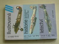 Krumbach, Vraný, Hurt - Avia BH-21, Jak 15, 17a, 23, Mk IX a XVI Ilustrovaná historie letectví(1986)