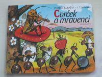 Cvrček a mravenci (1972) il. Kubašta