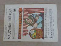 Nachmüllnerová - Malovaná píšťalka (1991) omalovánky