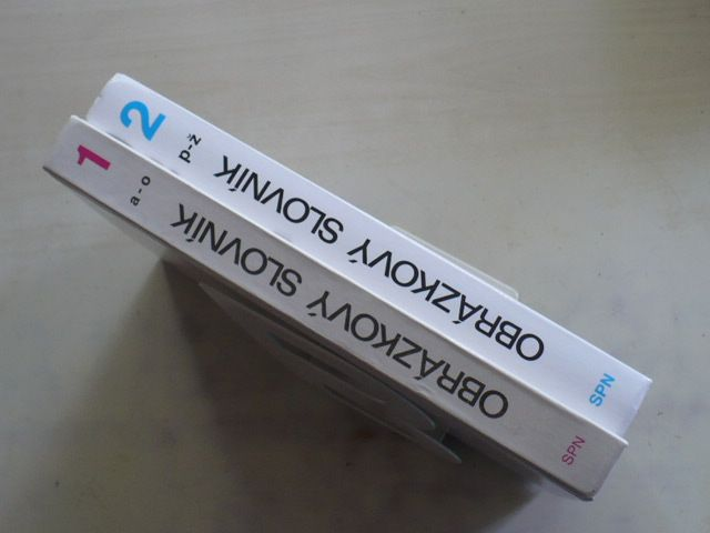 Obrázkový slovník pro ZŠ pro neslyšící a ZŠ pro žáky se zbytky sluchu 1,2 (1990,1996) 2 knihy