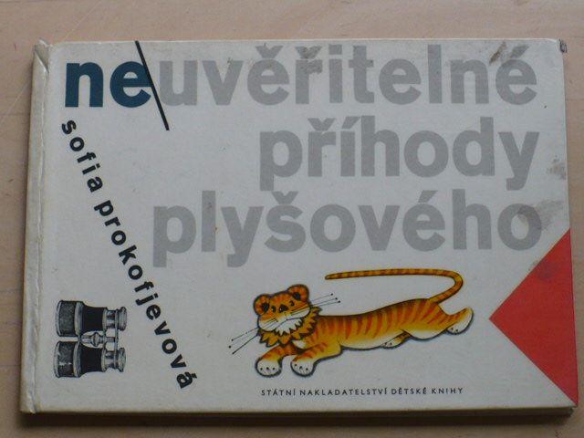 Prokofjevová - Neuvěřitelné příběhy plyšového tygra (1964) il. Fuka