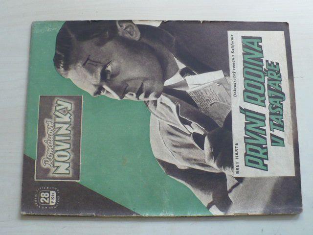 Románové novinky 28 - Harte - První rodina v Tasajaře (1948)