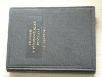 Dratvová - Filosofie a přírodovědecké poznání (1939)
