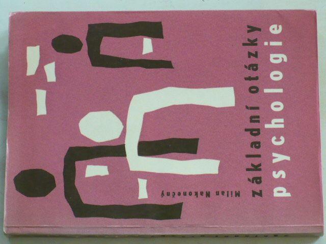Nakonečný - Základní otázky psychologie (1968)