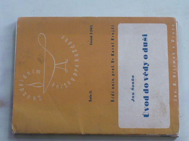 Šonka - Úvod do vědy o duši (1946)